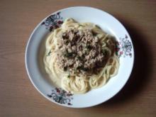 Pastasoße Thunfischcreme - Rezept