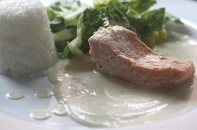 Lachs aus dem Ofen - Rezept