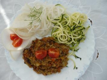 Rezept: Gemüse-Amaranth mit Rohkost