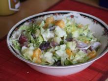 Salat: Eisberg,pikant-fruchtig - Rezept