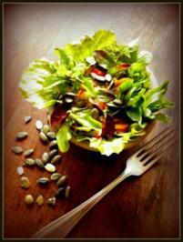 Was-der-Garten-so-hergibt-Salat - Rezept