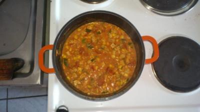 vegetarisch gefüllte Paprika - Rezept