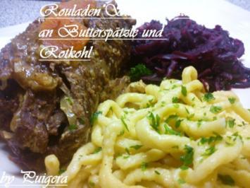 Rouladen auf Sauerbratenart - Rezept