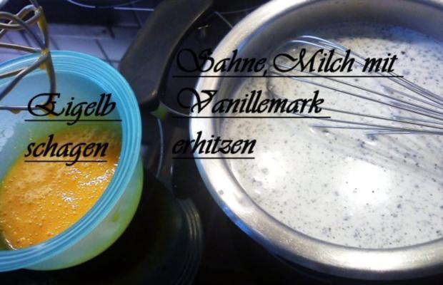 Zimtkirschen in Gelee mit Vanillesauce - Rezept - Bild Nr. 2
