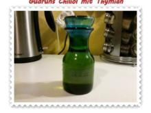 Öl: Chiliöl mit Thymian - Rezept