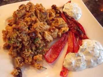 Orientalischer Früchte-Gemüse-Pilaw - Rezept