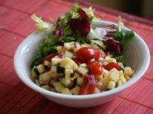 Zucchini-Apfel-Salat - Rezept