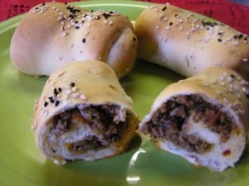 Türkische Pide mit Hackfleisch 15 Stk - Rezept