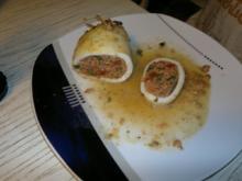 Gefüllte Tintenfische - Rezept