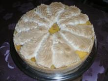 Rhabarberkuchen mit Baiser - Rezept