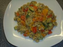 Gemüse mit Rührei - Rezept