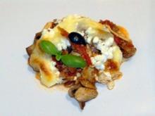 Leichte Lasagne - Low Carb (ohne Nudeln) - Rezept