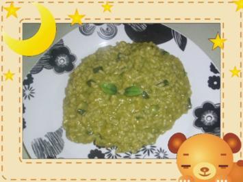 Matcha-Risotto mit Zucchini - Rezept