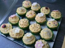 Frühlings-Cupcakes - Rezept
