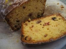 Backen: Orangen-Marzipan-Kuchen mit Cranberries - Rezept