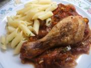 Geflügel: Pollo alla Pizzaiola - Rezept
