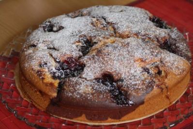 Preiselbeer-Kuchen - Rezept