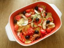Kartoffel - Gemüsepfanne - Rezept