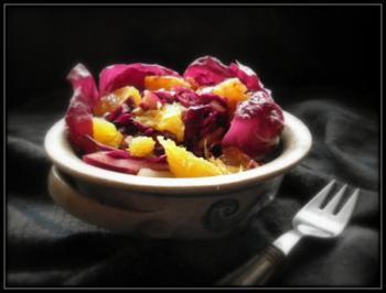 Rotkraut-Orangen-Salat - Rezept