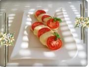 Tomate-Mozzarella Baguettes überbacken - Rezept