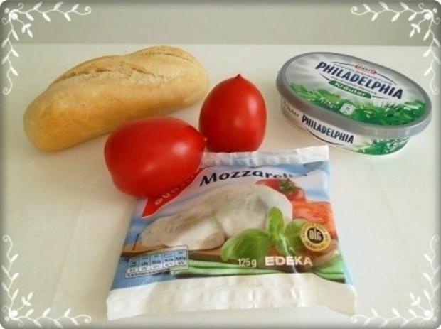 Tomate-Mozzarella Baguettes überbacken - Rezept - Bild Nr. 5