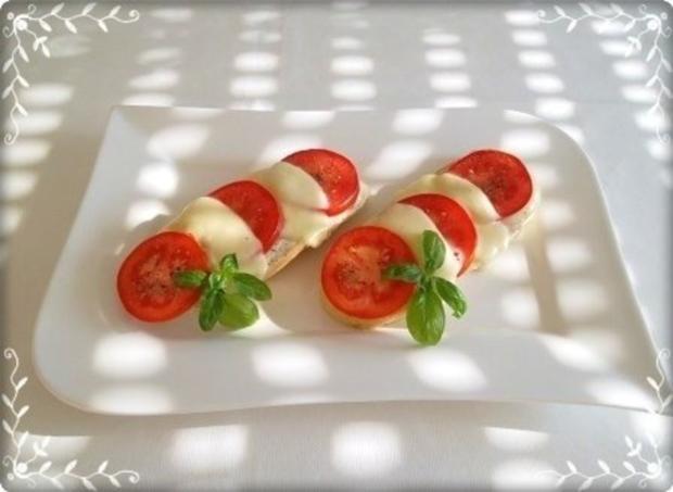 Tomate-Mozzarella Baguettes überbacken - Rezept - Bild Nr. 20