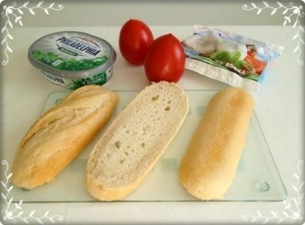 Tomate-Mozzarella Baguettes überbacken - Rezept - Bild Nr. 7