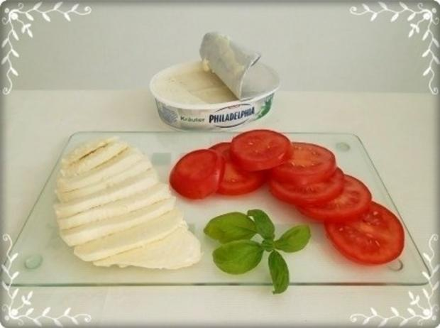 Tomate-Mozzarella Baguettes überbacken - Rezept - Bild Nr. 8
