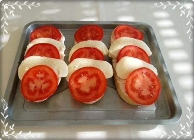 Tomate-Mozzarella Baguettes überbacken - Rezept - Bild Nr. 12