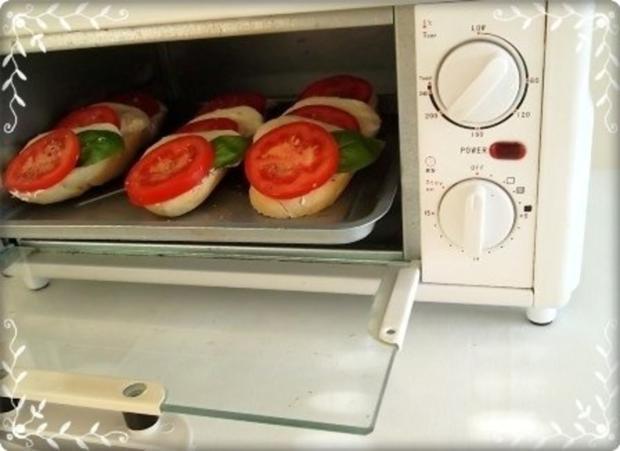 Tomate-Mozzarella Baguettes überbacken - Rezept - Bild Nr. 16