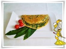 Bärlauch Omelett - Rezept