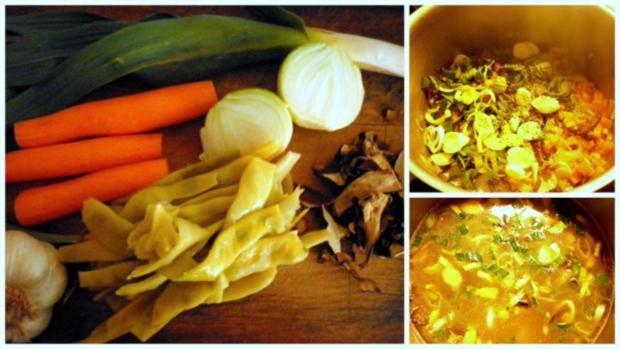 Grießnockerl-Suppe - Rezept - Bild Nr. 2