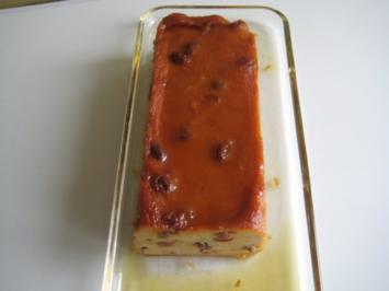 Brotflan-Caramel sanft gewürzt - Rezept