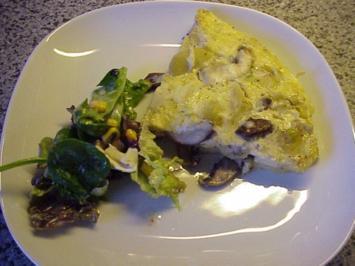 Kartoffel-Pilz-Tortilla - Rezept