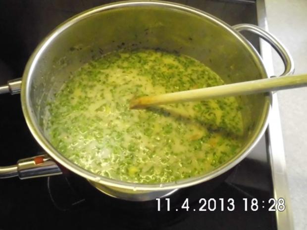 Kartoffeln in Kräuter-Sahne-Sauce - Rezept - Bild Nr. 11