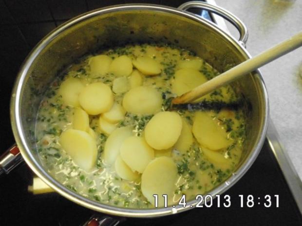 Kartoffeln in Kräuter-Sahne-Sauce - Rezept - Bild Nr. 12