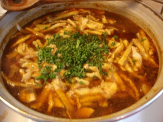 Saure chinesische Suppe à la Ivanka - Rezept - Bild Nr. 2
