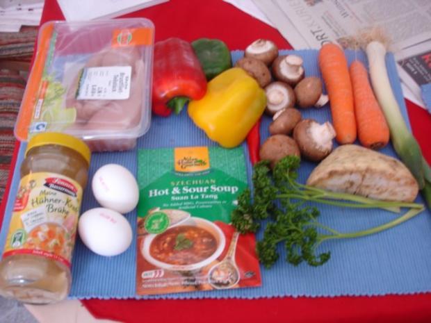 Saure chinesische Suppe à la Ivanka - Rezept - Bild Nr. 4