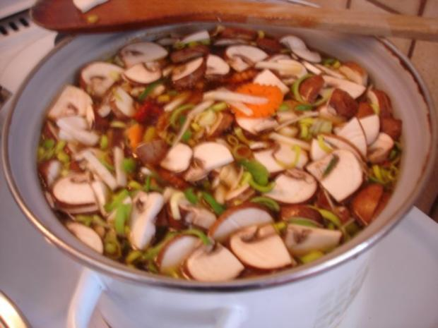 Saure chinesische Suppe à la Ivanka - Rezept - Bild Nr. 9