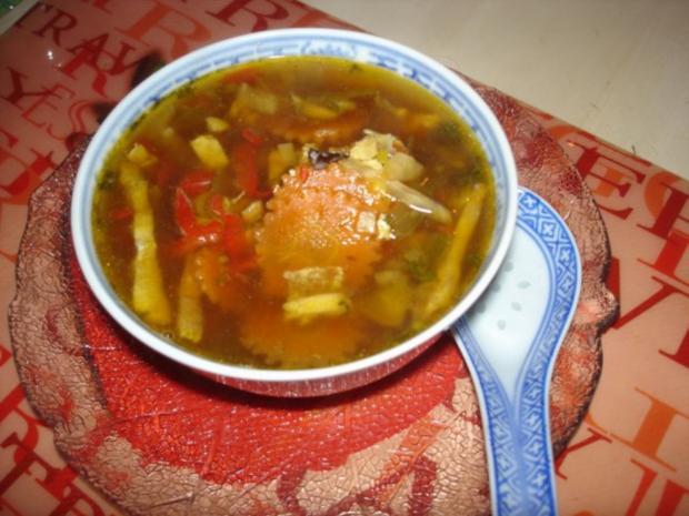 Saure chinesische Suppe à la Ivanka - Rezept - Bild Nr. 3