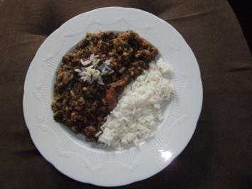 Rezept: türkischer Spinat
