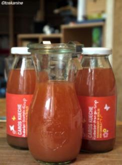 Rhabarber-Orangen-Sirup - Rezept
