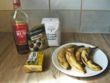 Bananas, baked and rumed as in Santa Lucia - Rezept