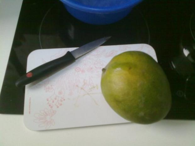 Selbstgemachtes Grießbrei mit Apfel-Mango-Stück - Rezept - Bild Nr. 23