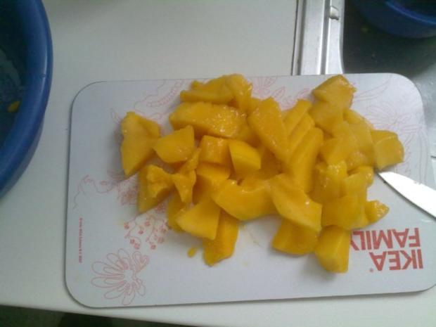 Selbstgemachtes Grießbrei mit Apfel-Mango-Stück - Rezept - Bild Nr. 25