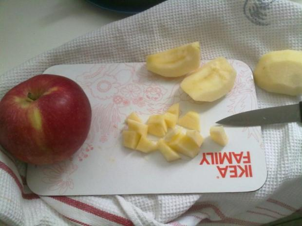 Selbstgemachtes Grießbrei mit Apfel-Mango-Stück - Rezept - Bild Nr. 26