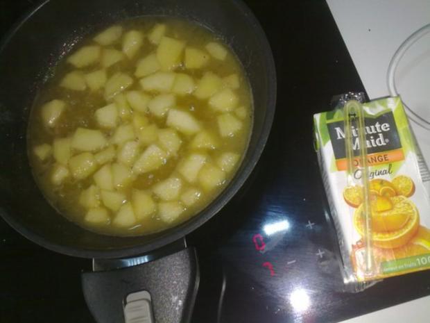Selbstgemachtes Grießbrei mit Apfel-Mango-Stück - Rezept - Bild Nr. 31