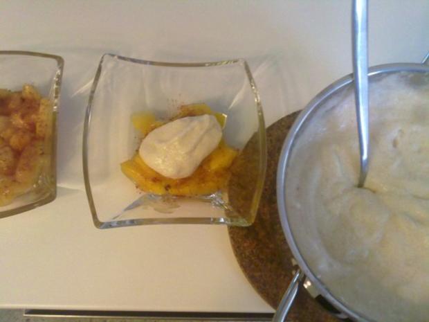 Selbstgemachtes Grießbrei mit Apfel-Mango-Stück - Rezept - Bild Nr. 34