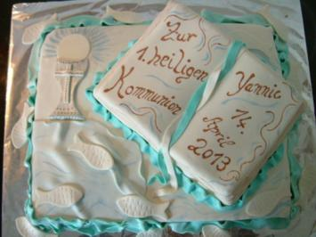 Kommuniontorte Kuchen Konfirmation - Rezept