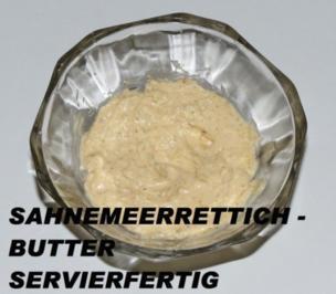 Sisserl's *Sahnemeerrettich - Butter* - Rezept